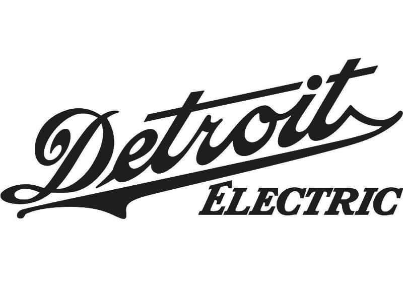 Logo Detroit Electric Antiguo