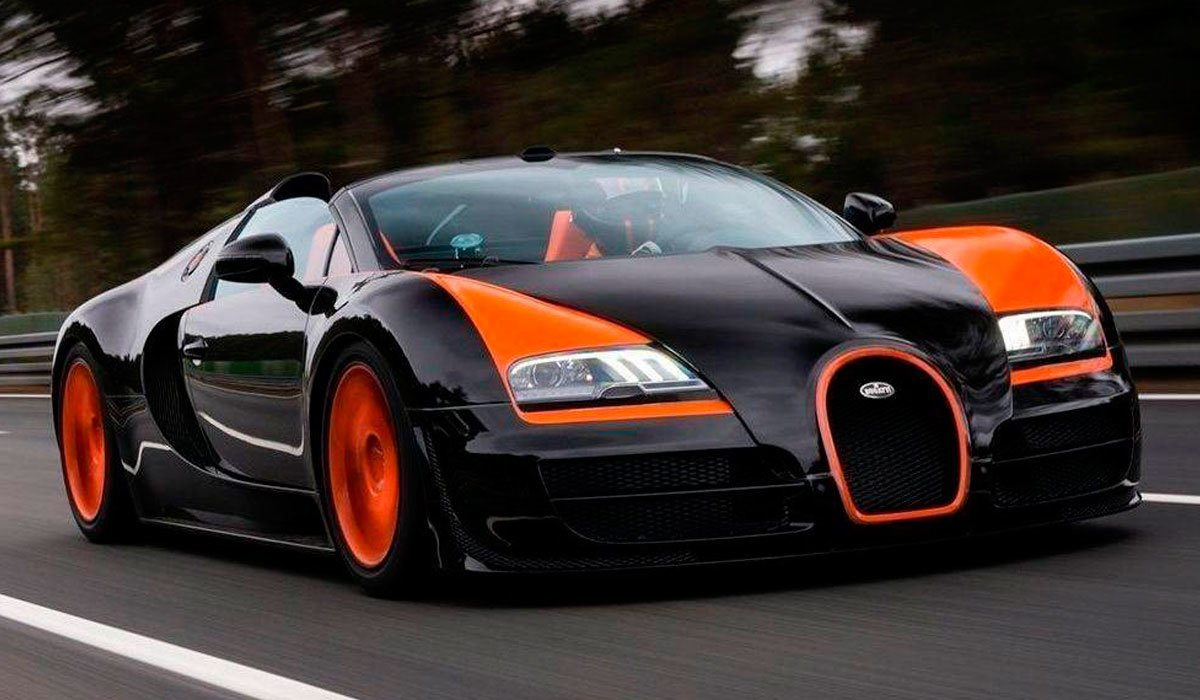 bugatti veyron aceleracion