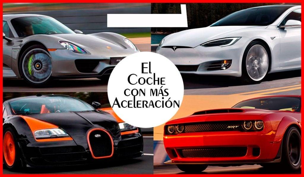 el coche con mas aceleracion del mundo